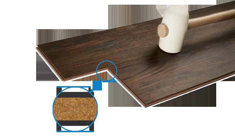 Wicanders Hydrocork einfache Verlegung mit PressFit