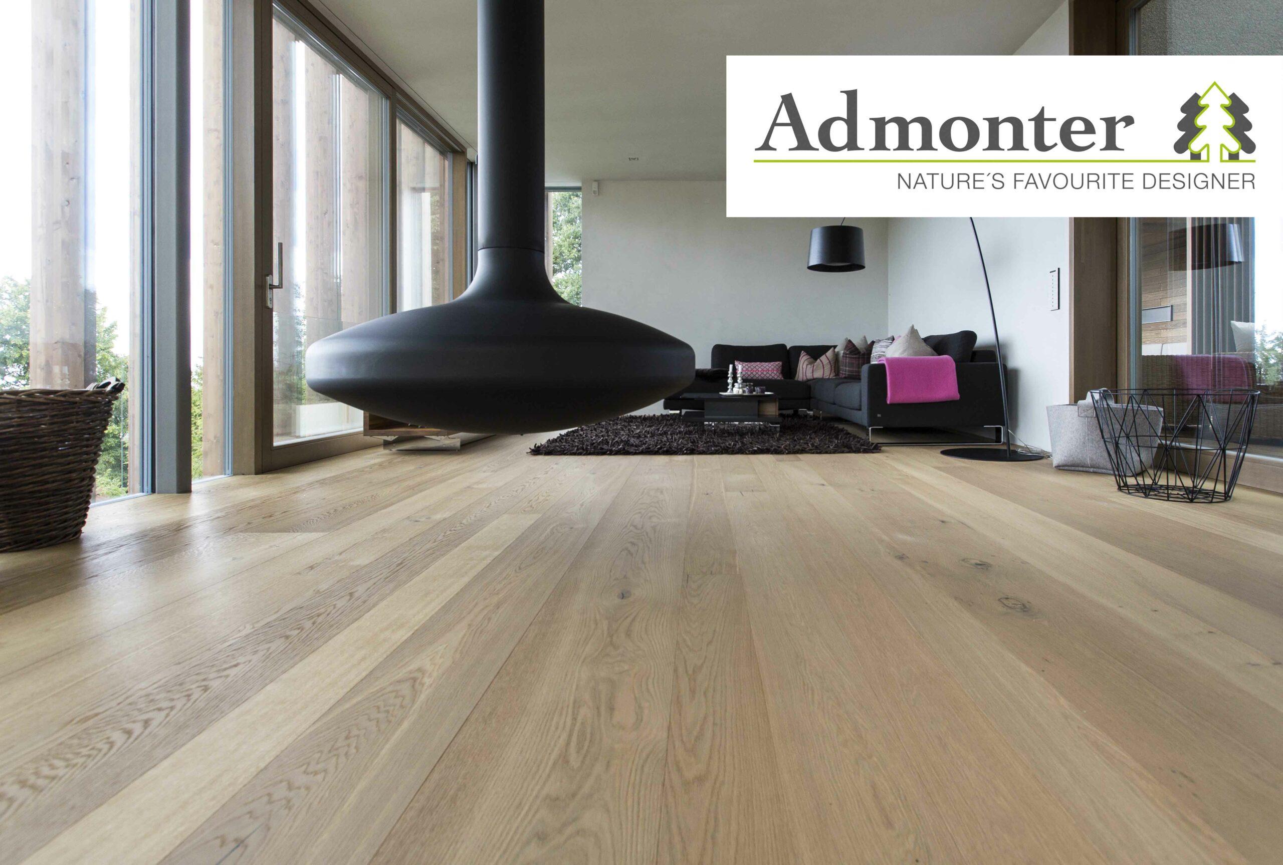 Admonter Floors Eiche Parkett Landhausdiele stone naturelle