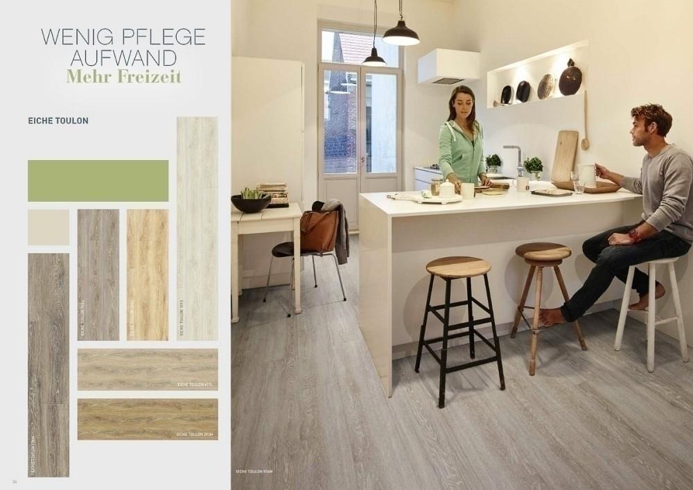 BerryAlloc Pure Click 40 XXL Vinyl-Designboden Wood mit Klick-System mit authentischer umlaufend gefaster und synchrongeprägt Oberfläche, Dekor Eiche Lime 954D Panelmaß: XXL 1836 x 204 mm, 5 mm Stärke, 0,4 mm Nutzschicht, 2,247 m² pro Paket, Vinyl-Design-Belag Preis günstig online kaufen und selbst verlegen, lebenslange Garantie privat
