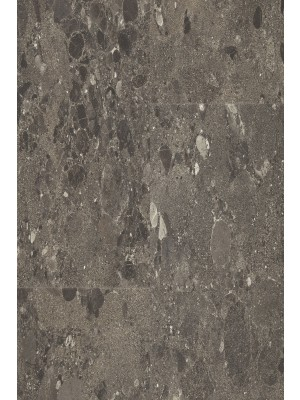 BerryAlloc Pure Click 55 Designboden Terazzo Dark Grey Stone