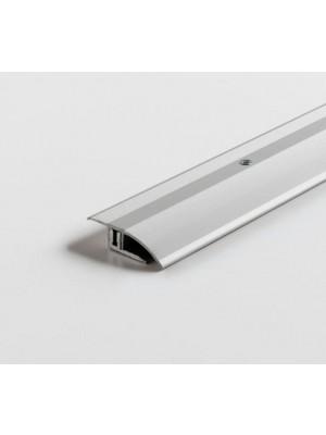 Parador Anpassungsprofil Edelstahl für Laminat und Design-Bodenbeläge