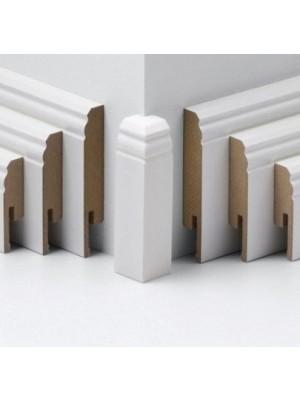 Parador Sockelleisten Ecken weiß, lieferbar nur in Verbindung mit Sockelleisten Bestellung