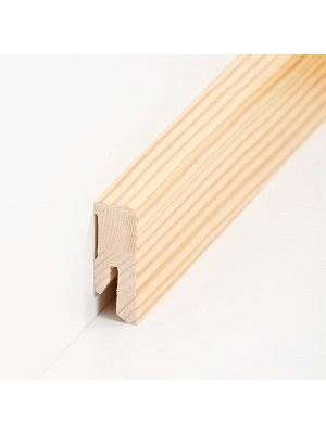 Südbrock Sockelleisten Holzkern Kiefer lackiert Holz-Fussleiste, Holzkern mit Echtholz furniert sbs16403