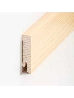 Südbrock Sockelleisten Holzkern Kiefer lackiert Holz-Fussleiste, Holzkern mit Echtholz furniert sbs16613