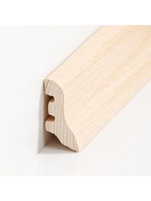 Südbrock Sockelleisten Holzkern Kiefer lackiert Holz-Fussleiste, Holzkern mit Echtholz furniert sbs222403