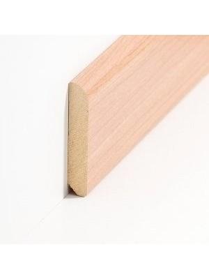 Südbrock Sockelleiste Holzkern Kirsche Holz-Fussleiste, Holzkern mit Dekorfolie ummantelt
