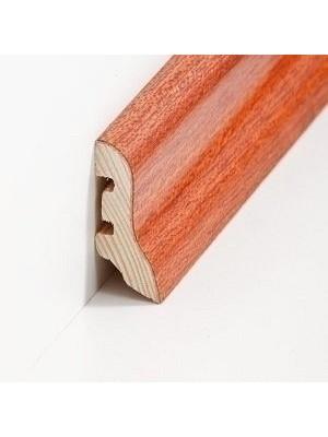 Südbrock Sockelleisten Holzkern Merbau lackiert Holz-Fussleiste, Holzkern mit Echtholz furniert sbs224012