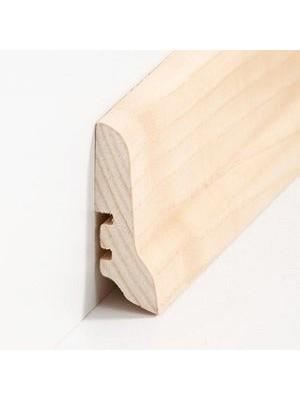 Südbrock Sockelleisten Holzkern Merbau lackiert Holz-Fussleiste, Holzkern mit Echtholz furniert sbs22612