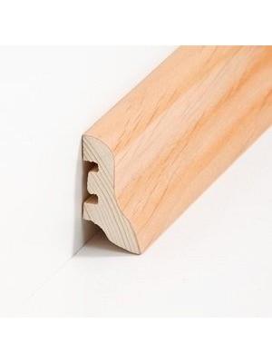 Südbrock Sockelleiste Holzkern Nussbaum lackiert Holz-Fussleiste, Holzkern mit Echtholz furniert