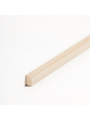Südbrock Sockelleiste Vorsatz Beige Massivholz Vorsatzleisten, Abachi sbs82244
