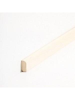 Südbrock Sockelleisten Vorsatz Roh Massivholz Vorsatzleisten, Abachi sbs82800
