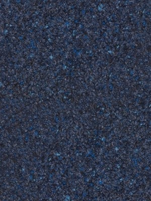 Fabromont Abraxas Nachtblau Colorpunkt Kugelvlies Teppichboden