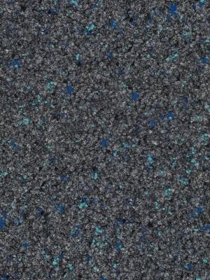 Fabromont Abraxas Dämmerblau Colorpunkt Kugelvlies Teppichboden