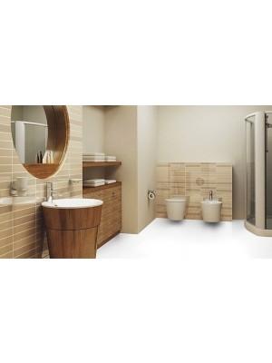Wineo Purline Eco Bioboden Rolle Pure White Residenz Bahnenware