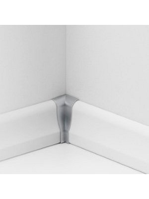 Parador Sockelleisten Ecken Alu-Optik, Innenecken Typ 2 für SL 4