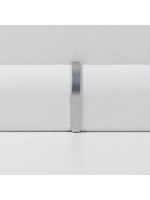 wP341517 Parador Sockelleisten Ecken Alu-Optik, lieferbar nur in Verbindung mit Sockelleisten-Bestellung Übergangskappen Typ 2 für SL 4