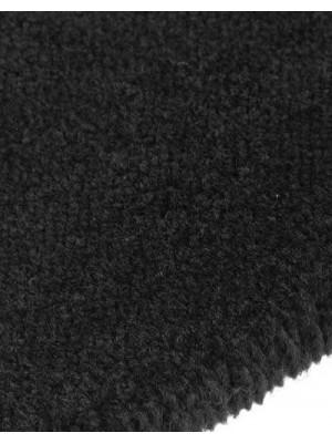 edelFORM Noblesse Teppichboden gut und günstig schwarz Kräuselvelours