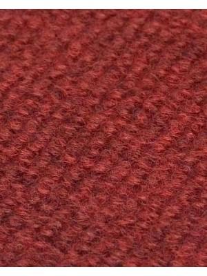 Profi Rips Teppichboden für Messe und Events dunkelrot meliert mit Latex-Rücken