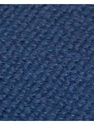 Profi Rips Teppichboden für Messe und Events dunkelblau mit Latex-Rücken