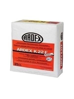 Ardex Spachtelmasse zum Ausgleichen von 3-50 mm in einem Arbeitsgang K22F faserarmierte Spachtelmasse wK22F