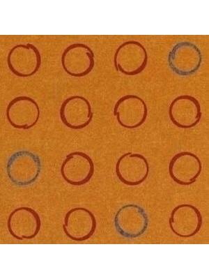 Forbo Flotex Teppichboden Orange Vision Shape Spin Objekt