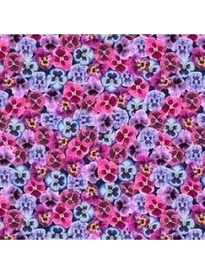 Forbo Flotex Teppichboden Pink floral Vision Image Objekt