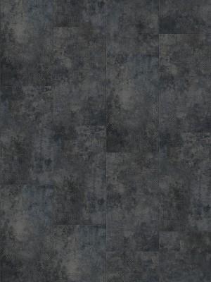 Gerflor Senso Clic Klick-Vinyl PETRA BLACK 4,2 mm Fliese einfaches vertikales  Klicksystem