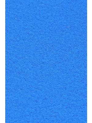 Profi Salsa Teppichboden für Messe hellblau mit Schutzfolie, Marine-Rücken