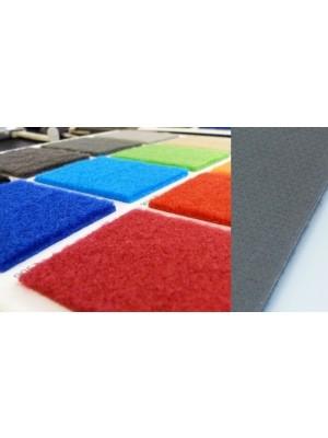 Profi Salsa Teppichboden für Messe grün mit Schutzfolie, Marine-Rücken