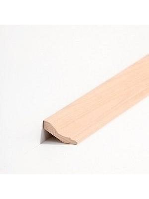 Südbrock Sockelleiste Massivholz Buche lackiert Massivholz Hohlkehlleiste, Profiliert