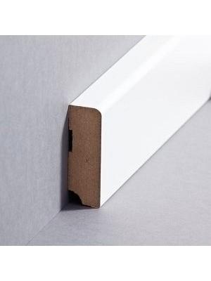 Südbrock Sockelleiste weiß Fußleiste, MDF-Kern mit Folie ummantelt 19 x 58 mm