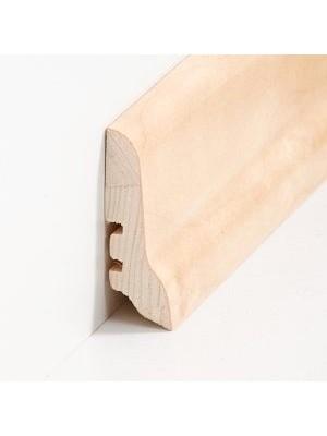 Südbrock Sockelleisten Holzkern Birke lackiert Holz-Fussleiste, Holzkern mit Echtholz furniert sbs22608