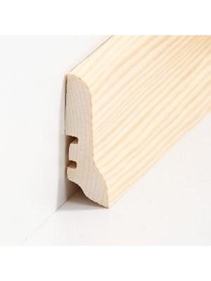 Südbrock Sockelleisten Holzkern Kiefer lackiert Holz-Fussleiste, Holzkern mit Echtholz furniert sbs22603