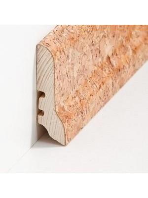 Südbrock Sockelleisten Holzkern Kork grob Fussleiste, Holzkern, Kork ummantelt, lackiert sbs226052