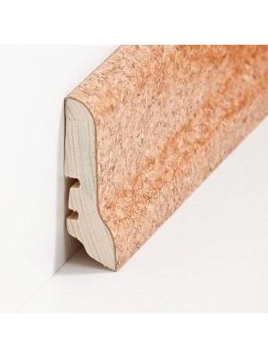 Südbrock Sockelleisten Holzkern Kork schlicht Fussleiste, Holzkern, Kork ummantelt, lackiert sbs226051