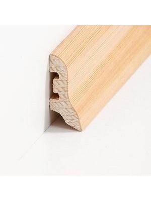 Südbrock Sockelleisten Holzkern Lärche lackiert Holz-Fussleiste, Holzkern mit Echtholz furniert sbs224013