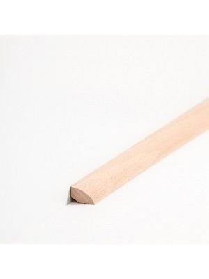 Südbrock Sockelleiste Viertelstab Buche gedämpft lackiert Massivholz Viertelstab Leiste sbs14144