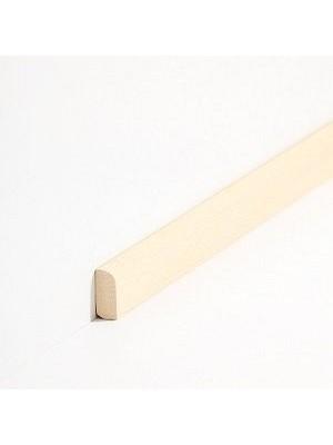 Südbrock Sockelleisten Vorsatz Natur Massivholz Vorsatzleisten, Abachi sbs82830