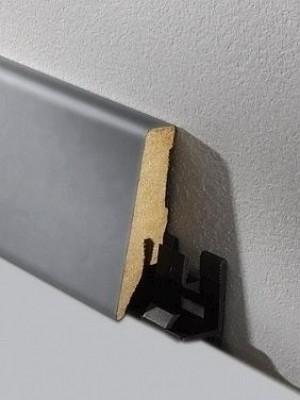Haro Sockelleiste Aluminium Parkett Echtholz Fußbodenleiste