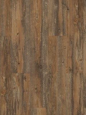 Adramaq Old Wood Vinyl Designboden Teak dunkel rustikales Holzdekor, synchrongeprägt