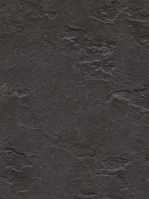 wfwme3707 Forbo Linoleum Uni Highland black Marmoleum Slate