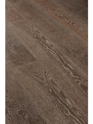 Wicanders Kentucky Holzparkett Atlanta Räuchereiche Rustikal Landhausdielen 1-Stab Fertigparkett, weiß gekalkt, gebürstet, geölt
