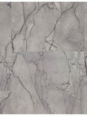 Wineo 1500 Stone XL Purline PUR Bioboden Grey Marble Fliesen zum Verkleben