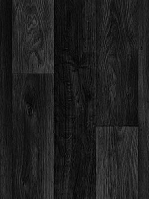 Profi Messe-Boden Holzdekor Wood Grip CV-Belag Eiche schwarz PVC-Boden