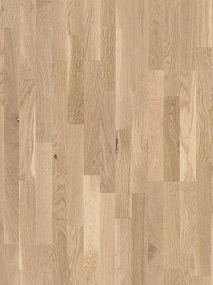 wP1366061 Parador Basic 11-5 Holzparkett Eiche rustikal matt weiß Fertig-Parkett in Schiffsboden 3-Stab, matt weiß lackiert