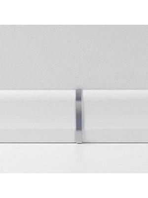 Parador Sockelleisten Ecken Alu-Optik, Übergangskappen Typ 2 für SL 2