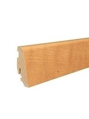 Haro Sockelleiste Echtholz furniert 58 x 19 mm, naturgeölt im passenden Holz der Bestellung