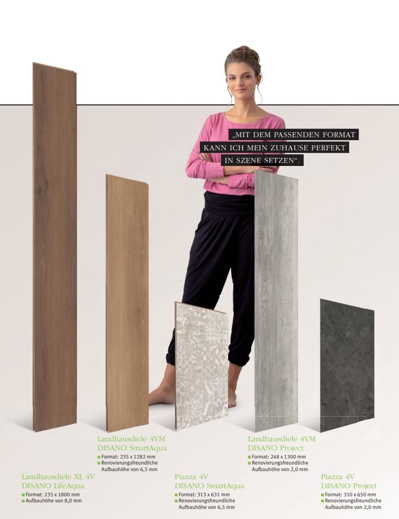 """HARO Disano Rigid Designböden 100% PVC-frei zertifiziert mit """"Blauer Engel"""""""
