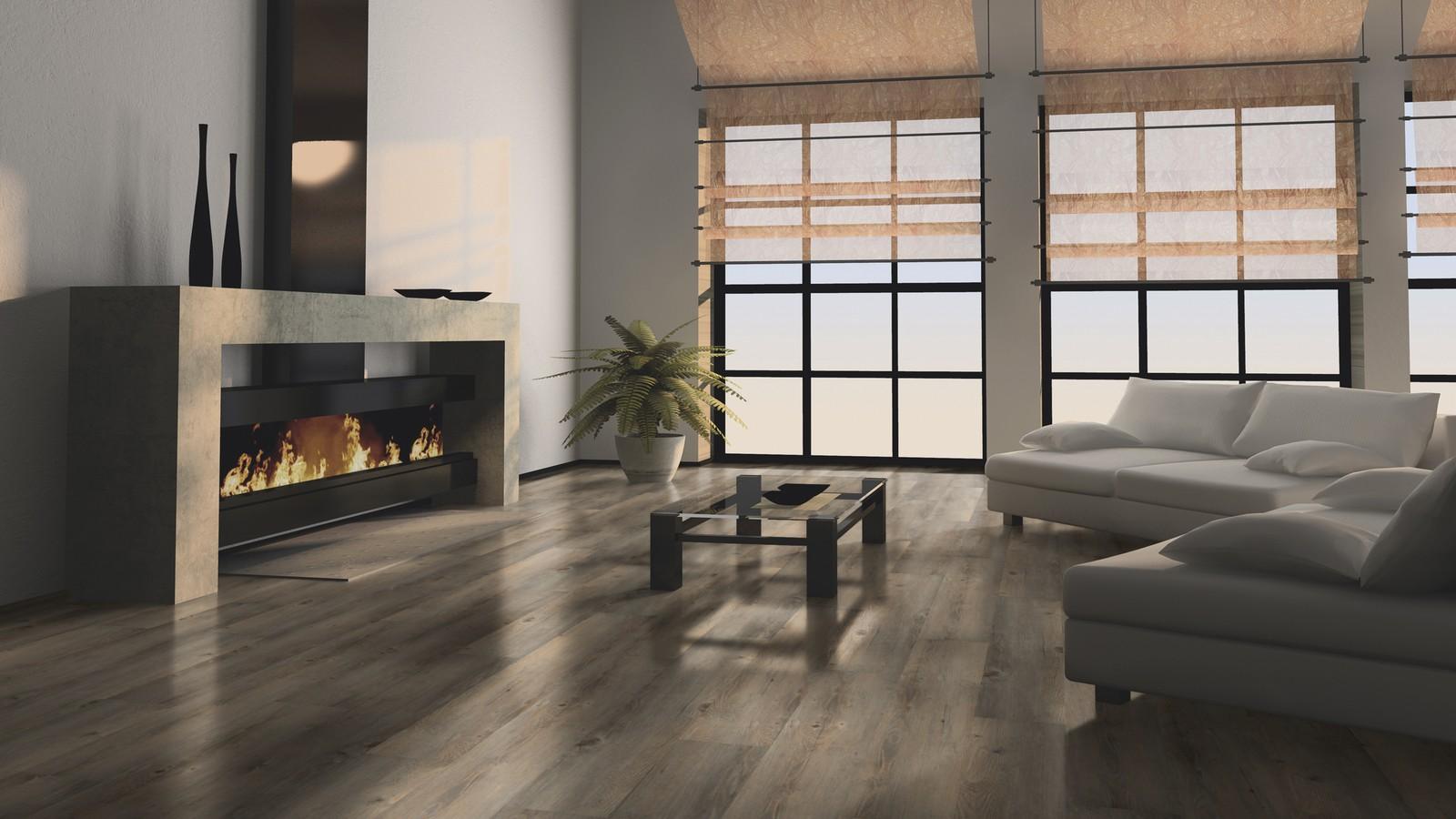 Wohnzimmer Bodenbelag Ideen Wineo 600 Klick Vinyl DLC0008 Toscany Pine