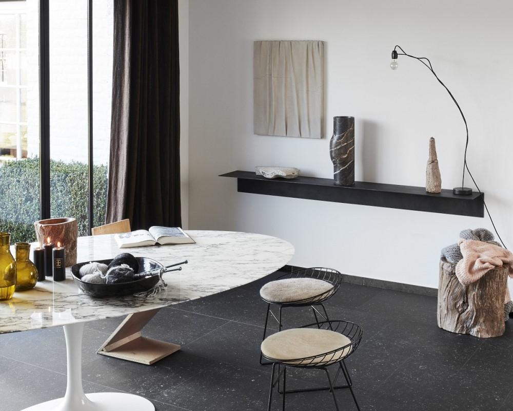 berryAlloc pure click 55 Bluestone dark Designboden mit Klicksystem für die Küche